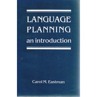 Language Planning. An Introduction