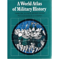 A World Atlas Of Military History