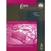 Australian Journal Of Earth Sciences. Volume 47. Number 3, June 2000