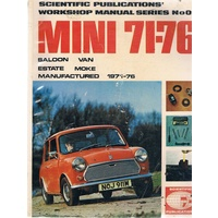 Mini 71-76. Saloon, Van, Estate, Moke