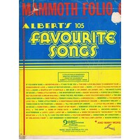 Albert's 105 Favourite Songs, Book One