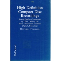 High Definition Compact Disc Recordings.