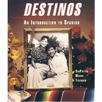 Destinos. An Introduction To Spanish