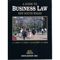 A Guide To Business Law New South Wales