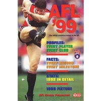 AFL '99. The Official Statistical History Of The AFL