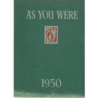 As You Were. 1950