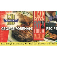 George Foreman Machine Recipes