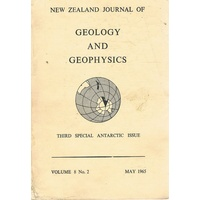 New Zealand Journal Of Geology And Geophysics. Volume 8. Number 2