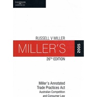 Miller's Annotated Trade Practices Act 2005