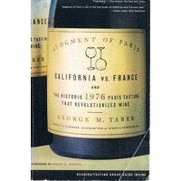 Judgment Of Paris. California Vs France
