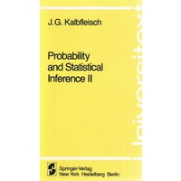Probability and Statistical Inference II
