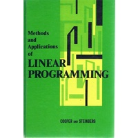 Methods And Applications Of Linear Programming