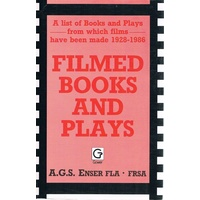 Filmed Books And Plays