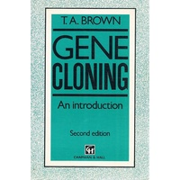 Gene Cloning. An Introduction.