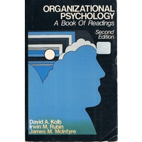 Organizational Psychology. A Book Of Readings