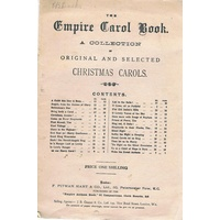 The Empire Carol Book. A Collection Of Original And Selected Christmas Carols
