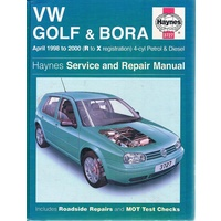 Volkswagen Golf and Bora Petrol and Diesel (1998-2000) Service and Repair Manual (Haynes Service and Repair Manuals)