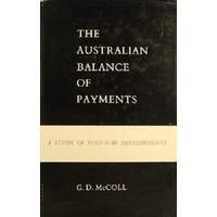 The Australian Balance Of Payments. A Study Of Post-War Developments