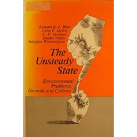 The Unsteady State. Environmental Problems, Growth, And Culture