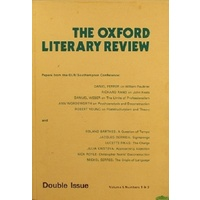 The Oxford Literary Review