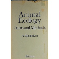 Animal Ecology. Aims And Methods