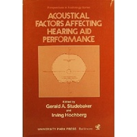 Acoustical Factors Affecting Hearing Aid Performance