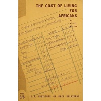 The Cost Of Living For Africans