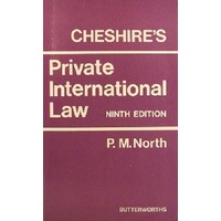 Cheshire's Private International Law