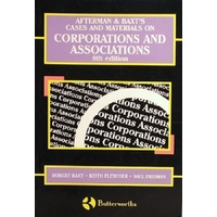 Afterman & Baxt's Cases And Materials On Corporations And Associations