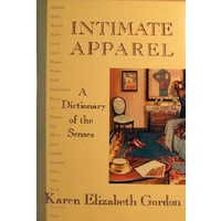 Intimate Apparel. A Dictionary Of The Senses