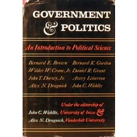 Government And Politics. An Introduction To Political Science