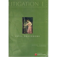 Litigation 1. Civil Procedure