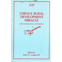 China's Rural Development Miracle. With International Comparisons