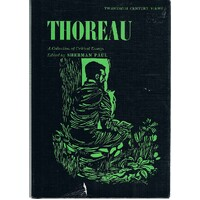 Thoreau. A Collection Of Critical Essays.