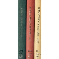 German Men Of Letters. Twelve Literary Essays. 3 Vol. Set