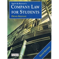 Smith And Keenan's Company Law For Students