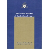 Historical Records Of Australian Records. Volume 13.number 4