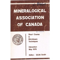 Short Course In Microbeam Techniques .Mineralogical Association Of Canada