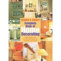 Complete Book Of Home Decorating