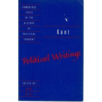 Kant. Political Writings