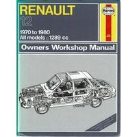 renault 12 owners workshop manual haynes j h parker tim marlowes rh marlowesbooks com Dodge Owner's Manual Instruction Manual