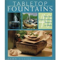 Tabletop Fountains. Easy And Great-Looking Projects To Make