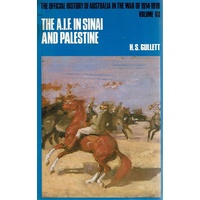The A.I.F. In Sinai And Palestine. Vol.VII
