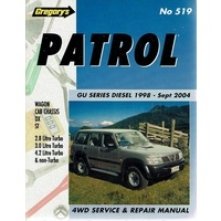 Patrol GU Series Diesel April 1998-Sept 2004 - Service and Repair Manual Series #519