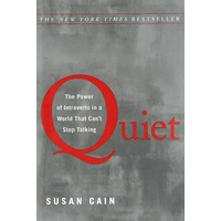 Quiet. The Power Of Introverts In A World That Can't Stop Talking