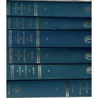 A History Of Australia. (6 Volume Set)