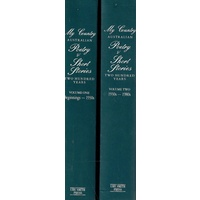 My Country. Australian Poetry And Short Stories. Two Hundred Years. (2 Volume Set)