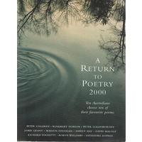 A Return To Poetry 2000. Poems
