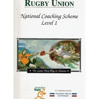 Rugby Union. National Coaching Scheme