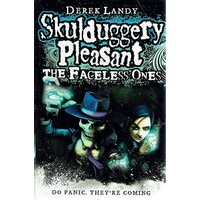 Skulduggery Pleasant. The Faceless One